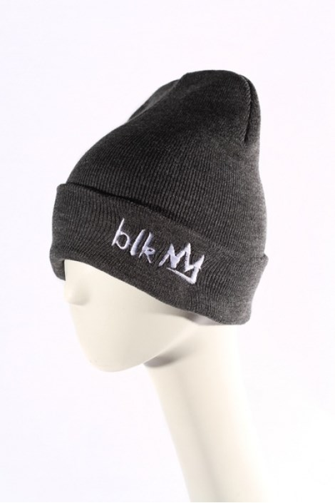 Blk Crown Шапка Broken logo (dark grey)