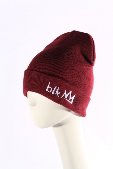 Blk Crown Шапка Broken logo (maroon)