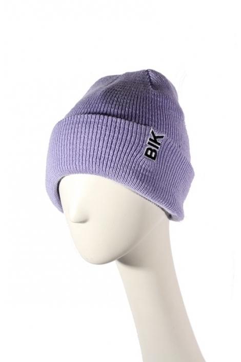 Blk Crown Шапка Vertical logo (lavend)