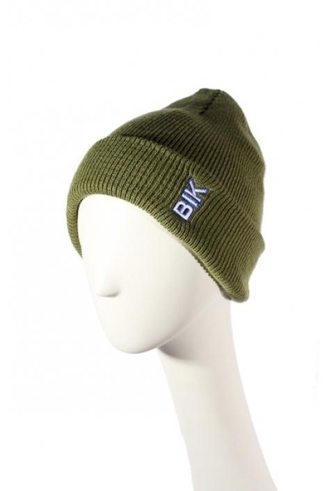 Blk Crown Шапка Vertical logo (pistachio)