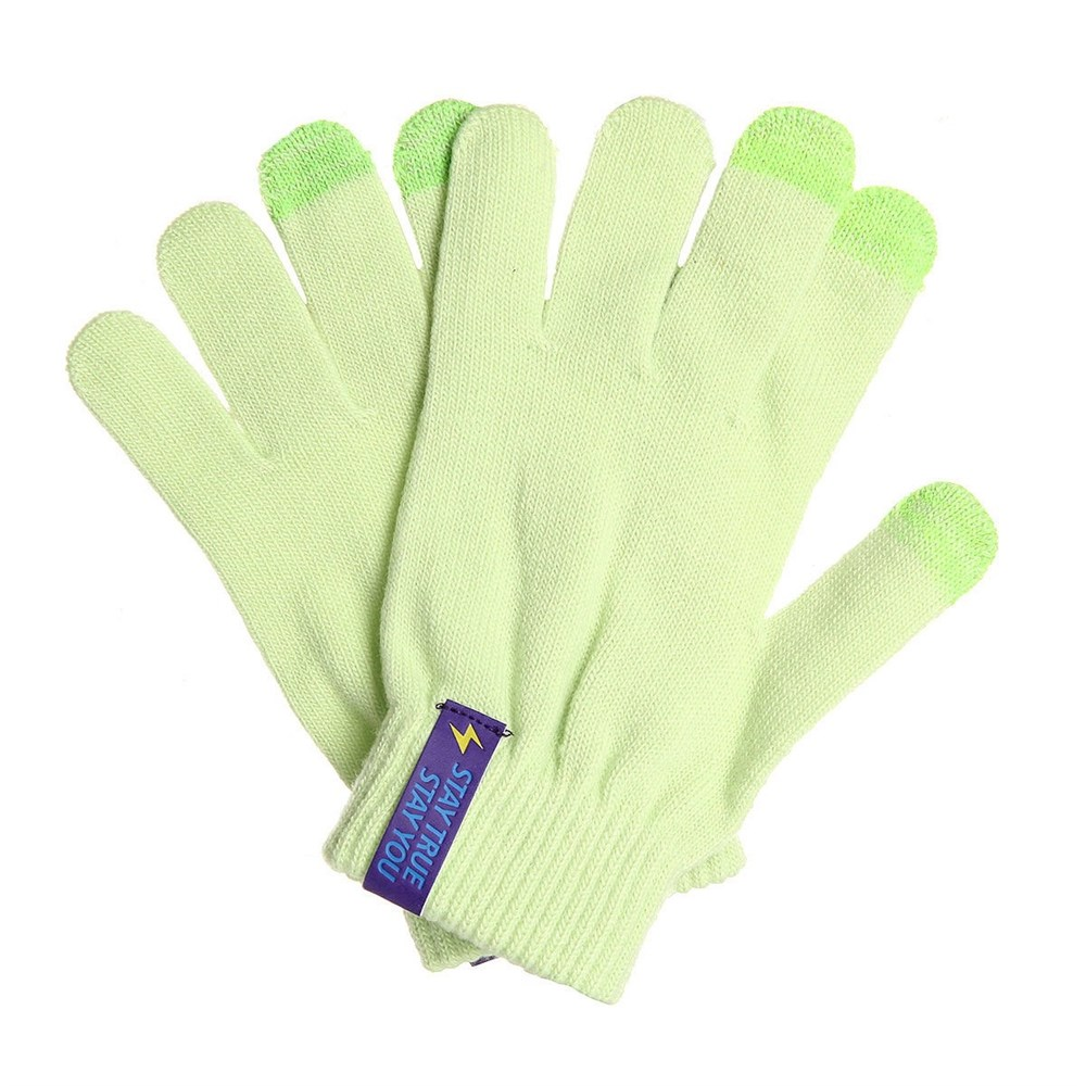 Перчатки TRUESPIN Touch Gloves (Зеленый (Light Green), O/S)