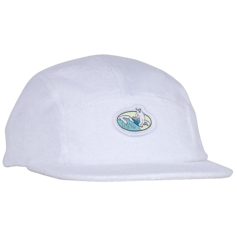 RIPNDIP Кепка Paradise 5 Panel Terry Cloth White