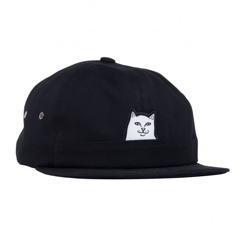 RIPNDIP Кепка Lord Nermal 5 Panel Pocket Hat Black