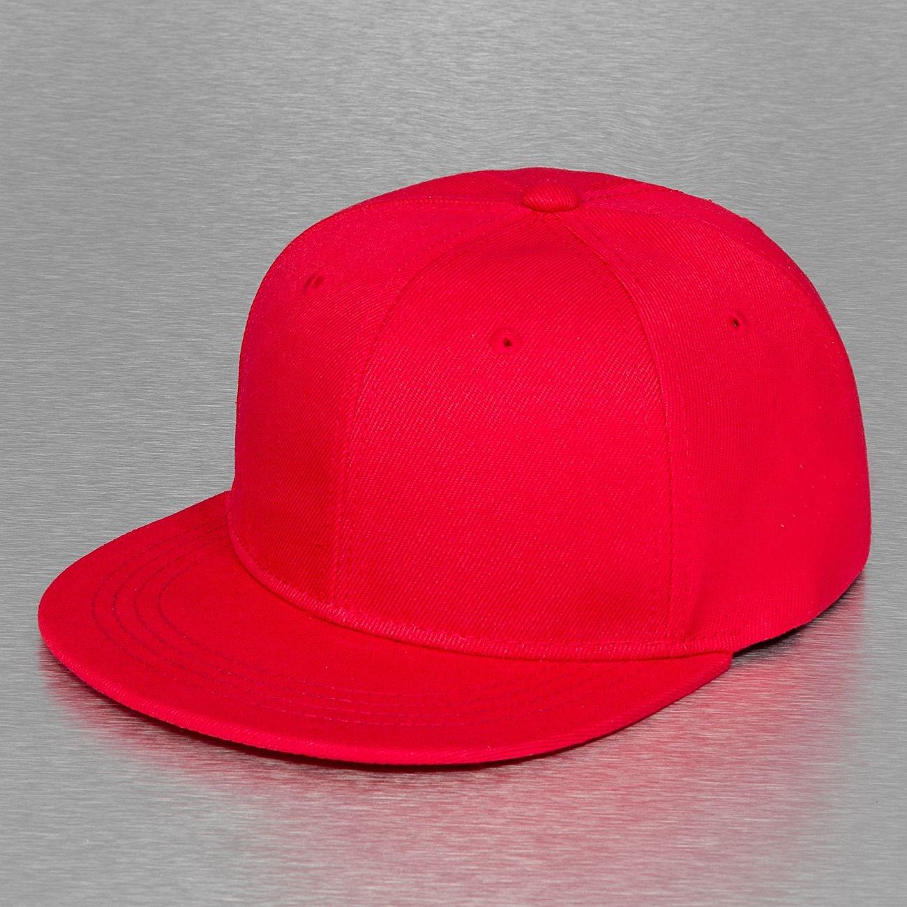 Бейсболка TRUESPIN Acrylic Blank Snapback (Red, O/S)