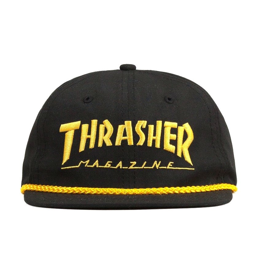 Кепка Thrasher rope snapback black