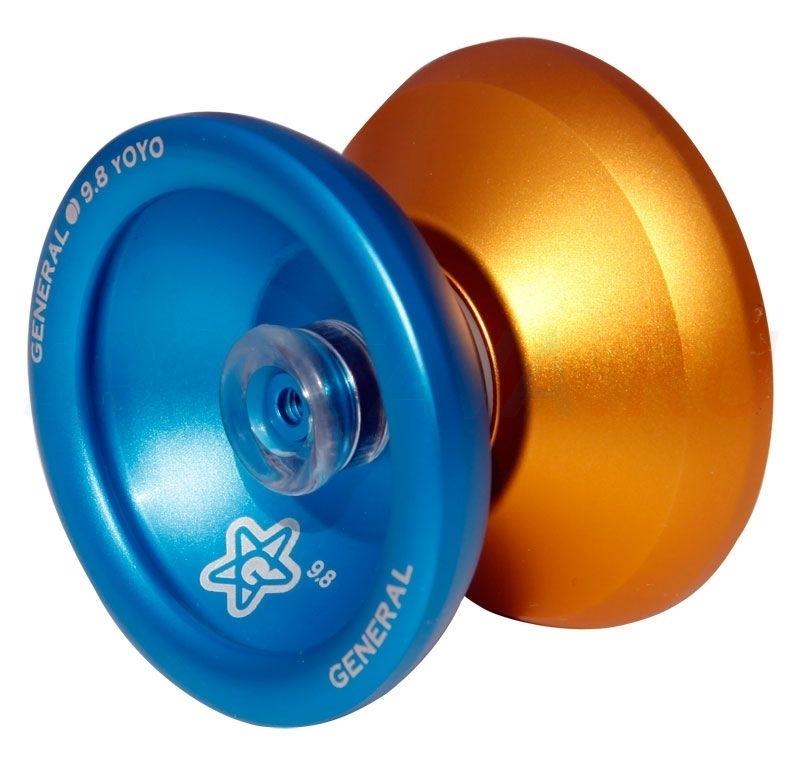 Йо-йо - 9.8 - General (Blue/Gold)