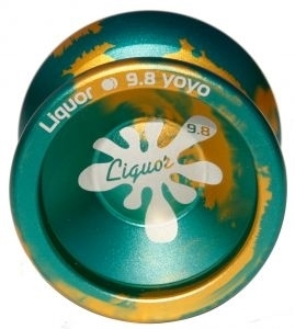 Йо-йо -  - Liquor Splash 9.8 (Gold/Blue)