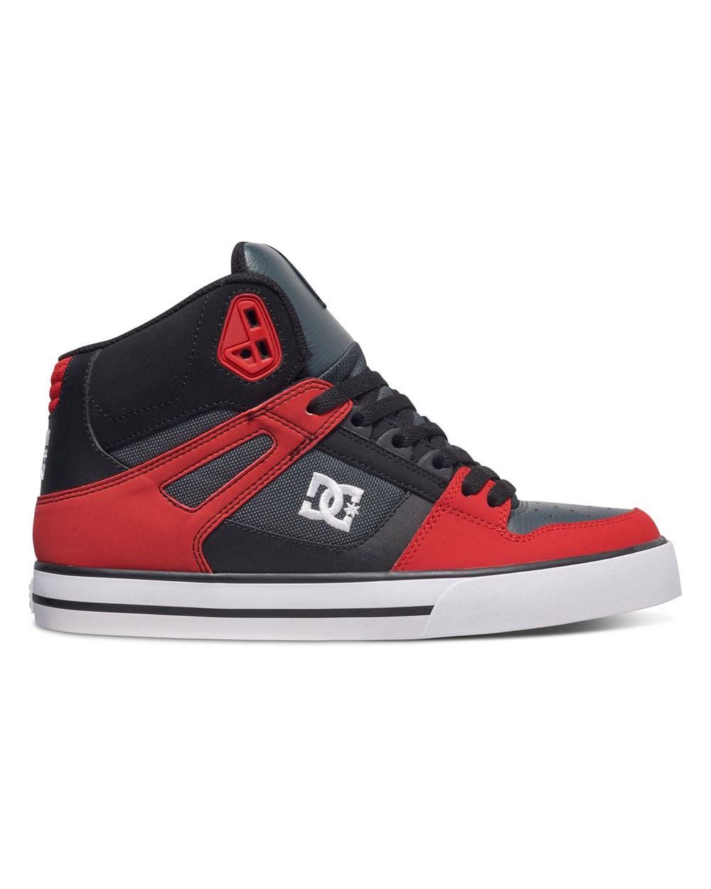Обувь DC Spartan grey dark red