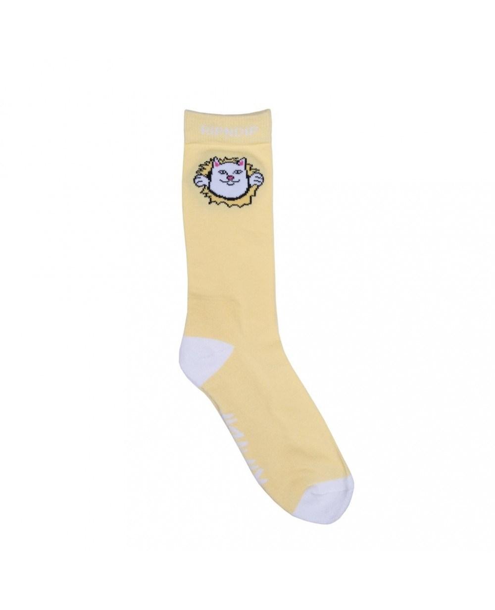 RIPNDIP Носки Nermamaniac Socks Yellow