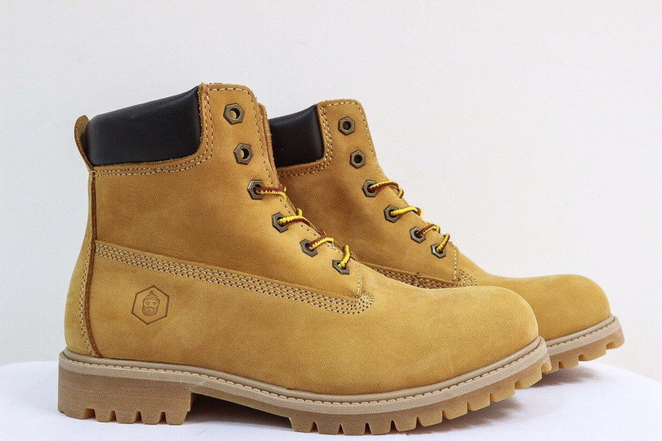 Ботинки Jack Porter TW2701-NW-W Нубук, желтый 50%шерсть