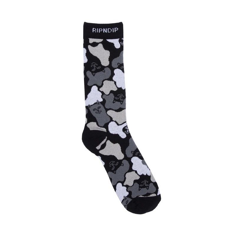 RIPNDIP Носки Blizzard Socks black camo