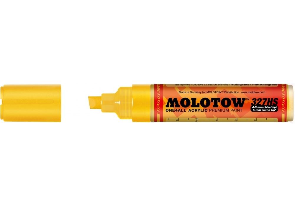Маркер MOLOTOW 327HS ONE4ALL #006 Желтый 4-8 мм.