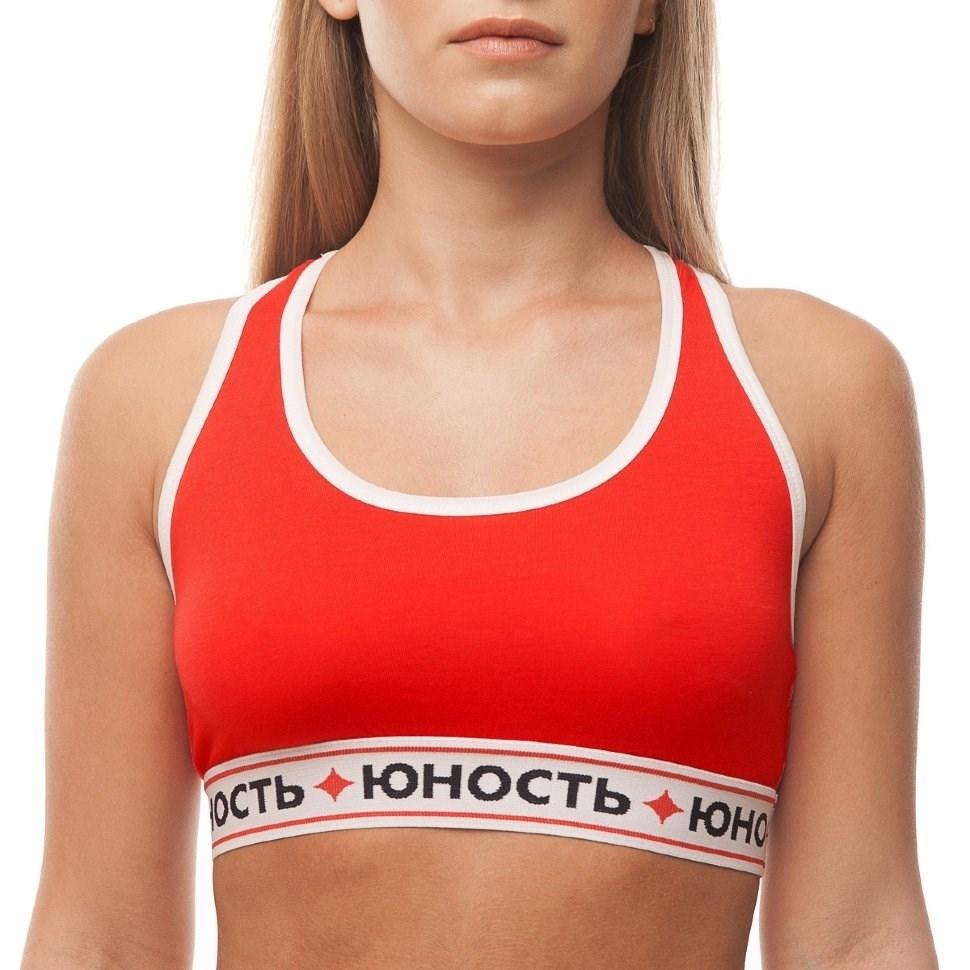 Юность Топ спортивный женский «Команда'17» Красный