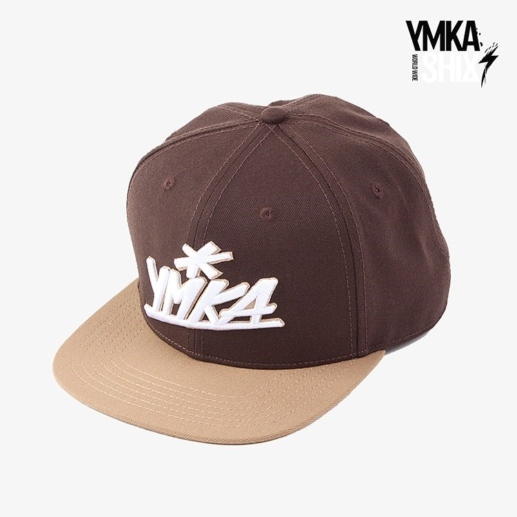 Кепка Ymka Shix brown logo snap (коричневый)