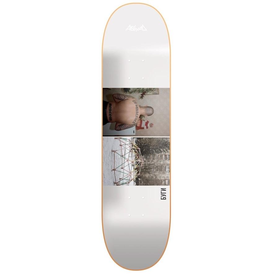 "АБСУРД дека скейтборд MOSKVA2 (SS20) (ASSORTED, 8,5"") - фото 19296"
