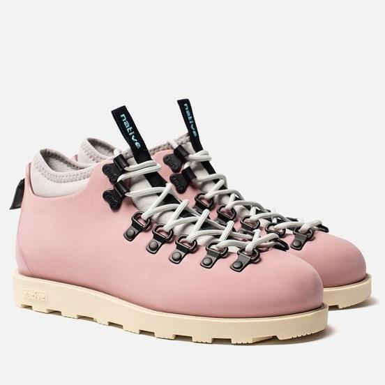 Ботинки Native ROSE PINK/ BONE WHITE - фото 23390