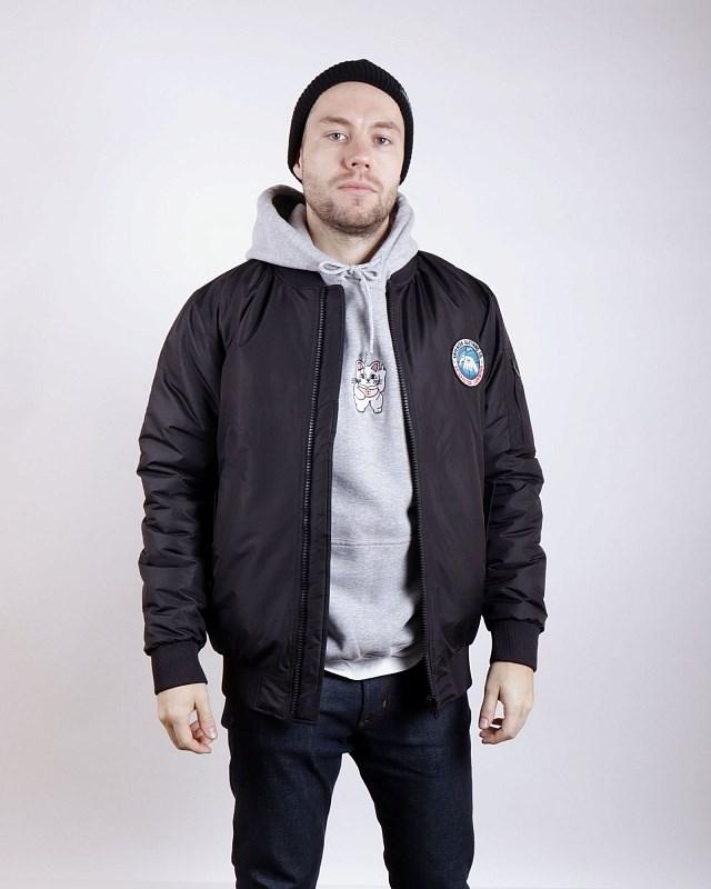 Куртка Anteater Bomber-black - фото 24546