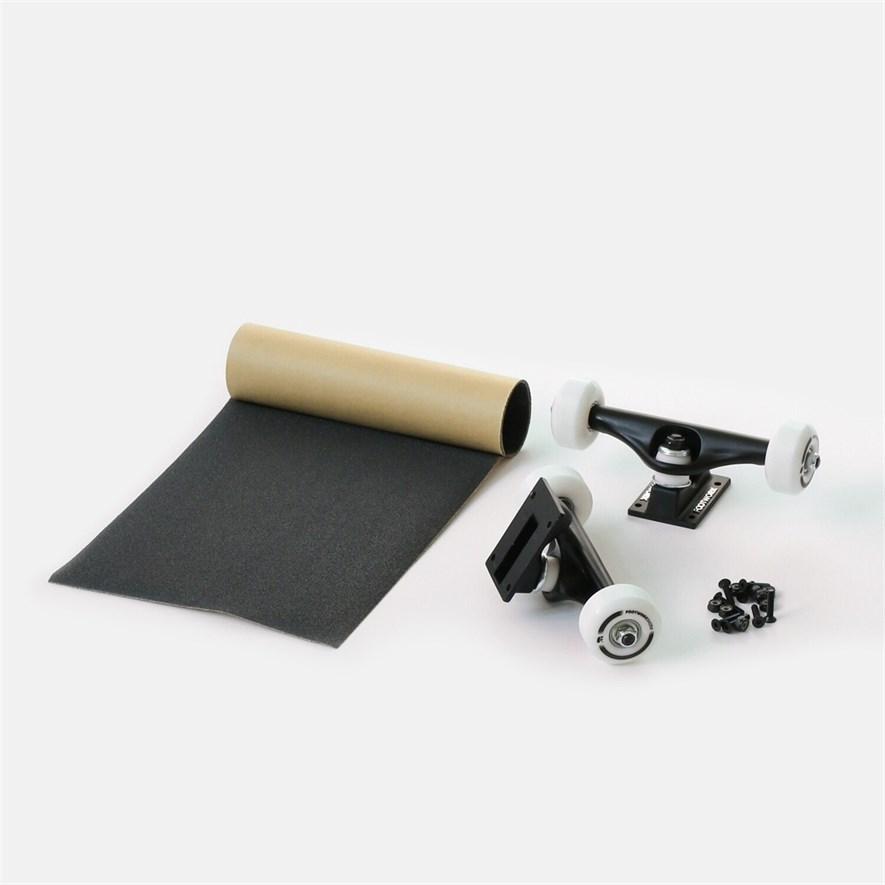 Набор для сборки Комплита - BLACK (подвески и колеса в сборе+комлект винтов+наждак в рулонах) (ширина: 5,25'') - фото 27778