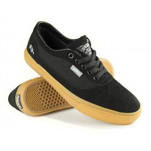 Кеды Slackers REBEL black/gum - фото 5471
