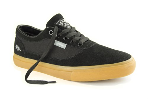 Кеды Slackers REBEL black/gum - фото 5472