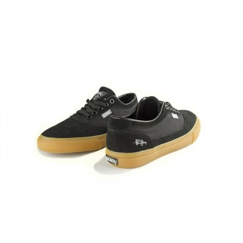 Кеды Slackers REBEL black/gum - фото 5473