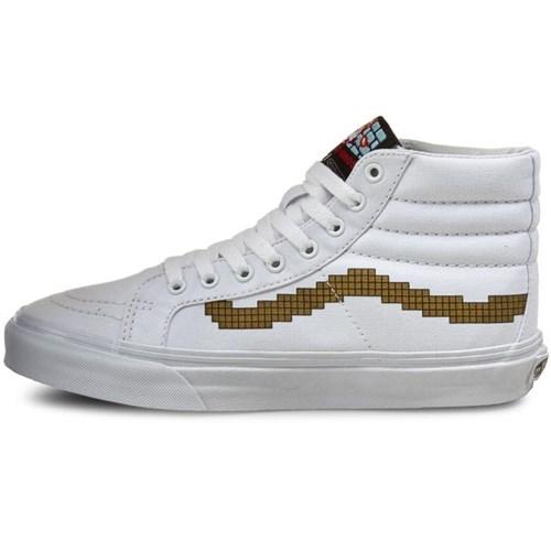 Обувь Vans Nintendo Sk8-Hi Slim Console\gold VN00018IJUZ - фото 5748
