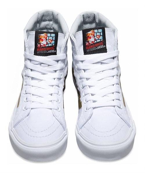 Обувь Vans Nintendo Sk8-Hi Slim Console\gold VN00018IJUZ - фото 5749