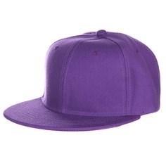 Бейсболка TRUESPIN Acrylic Blank Snapback (Purple, O/S) - фото 7420