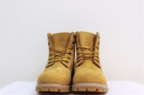 Ботинки Jack Porter TW2701-NW-W Нубук, желтый 50%шерсть - фото 8555