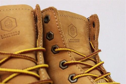 Ботинки Jack Porter TW2701-NW-W Нубук, желтый 50%шерсть - фото 8556