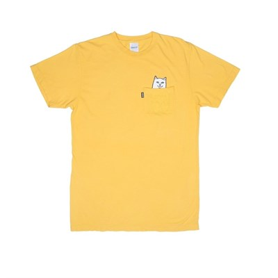 RIPNDIP Футболка Lord Nermal Pocket Tee Yellow
