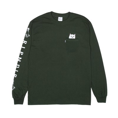 Лонгслив RIPNDIP Lord Nermal L/S Hunter Green