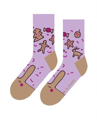 Носки St. Friday socks Печенькам изменить нельзя арт 480-22 р. 42-46