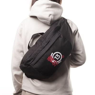 Поясная сумка extra ЮНОСТЬ™ «Номер 13» - Назад пути нет (Черный)