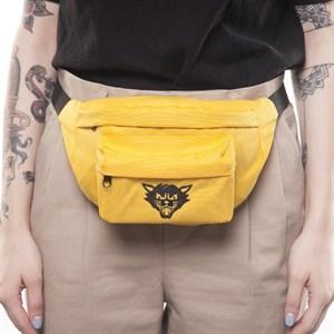 Поясная сумка ЮНОСТЬ™ «Кот» v.02 - лого (Грязно-желтый)