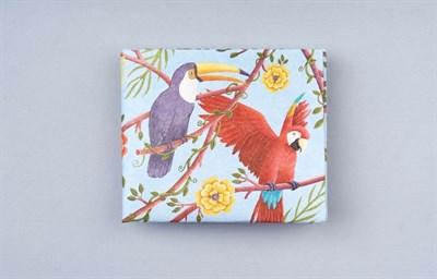 Кошелек NEW WALLET - new Parrots;сделан из Tyvek®