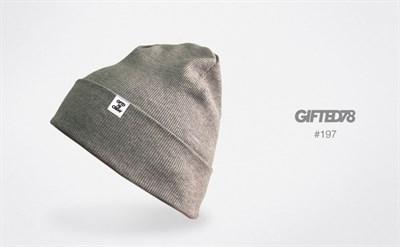 """Шапка """"GIFTED"""" knitfleece18/197"""