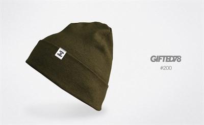 """Шапка """"GIFTED"""" knitfleece18/200"""