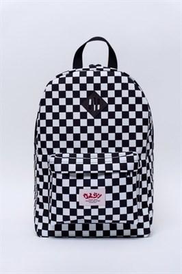 Oldy рюкзак checker all black/white