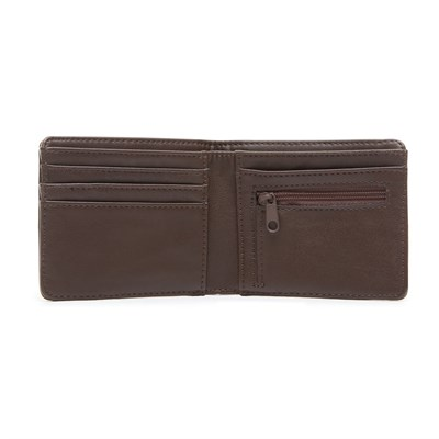 VANS Кошелек VA31J8DRB MN DROP V BIFOLD WAL Dark Brown