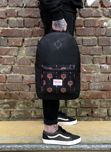 Oldy рюкзак карман rosa black