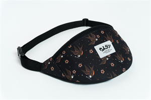 Oldy поясная сумка bird black