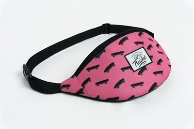 Travel поясная сумка skate pink
