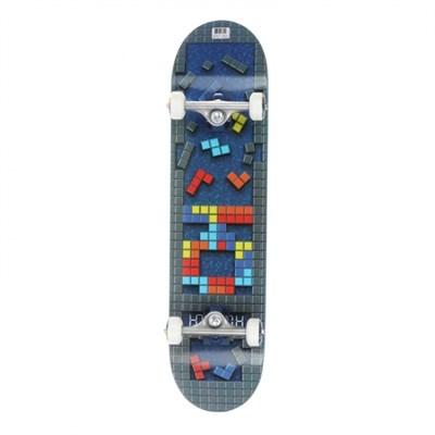 "Комплект Скейт ""Tetris"" 7,6x31,25 Medium, Колёса 53mm/101a Подвески 129, Подшипники ABEC 7"