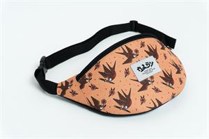 Oldy поясная сумка bird hell pink