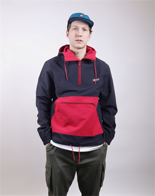 Анорак Anteater cotton-bl_red