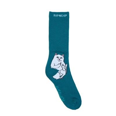 RIPNDIP носки Lord Nermal Socks Aqua