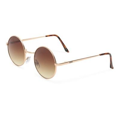 Vans Очки солнцезащитные VA3I4LTJI GUNDRY SHADES matte gold-bronze brown