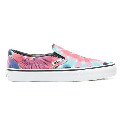 Vans Кеды VA38F7VKI UA Classic Slip-On (tie dye) multi/true white