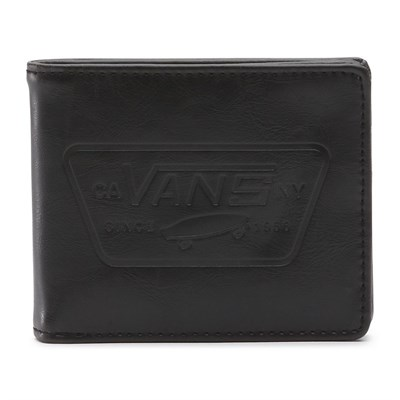 Vans Кошелек VA31J9BLK MN FULL PATCH BIFOLD Black